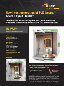 PLS 6G Display Flyer