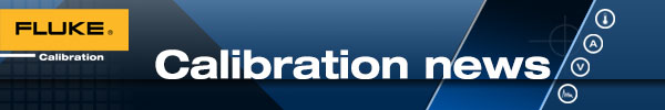 Fluke Calibration Webinar and eNews Web Banners