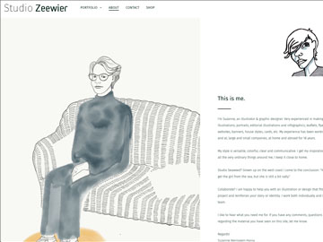 Studio Zeewier Website