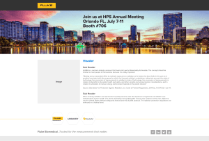HPS Email and Web Page Banners