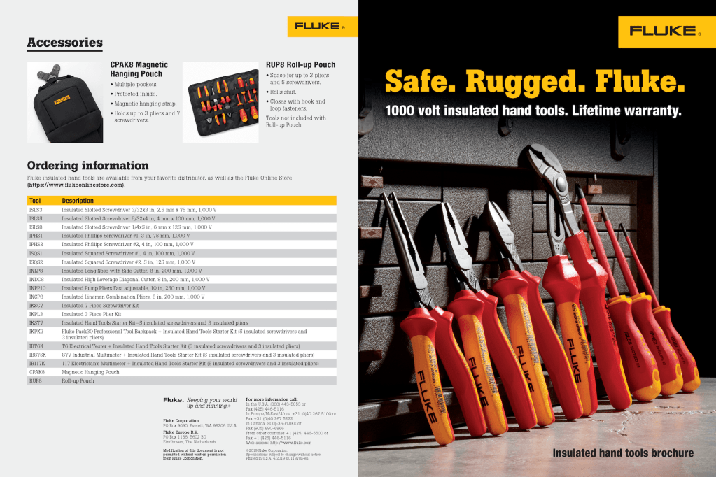 Insulated Hand Tools Brochure
