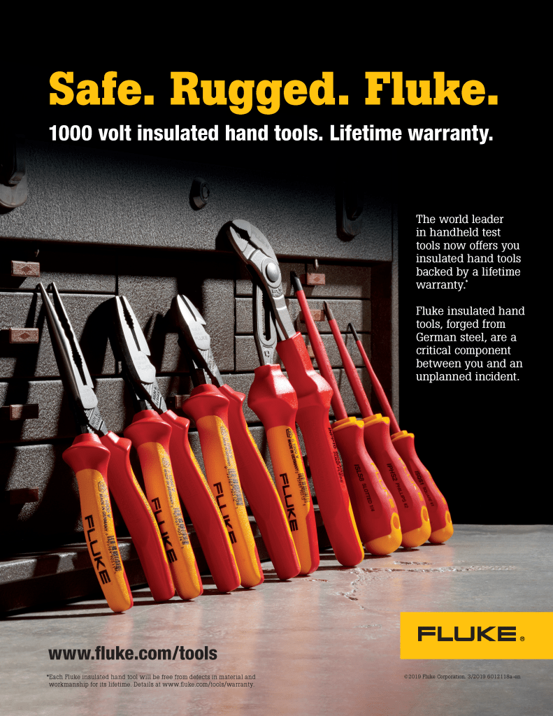 Insulated Hand Tools Full Page Ad