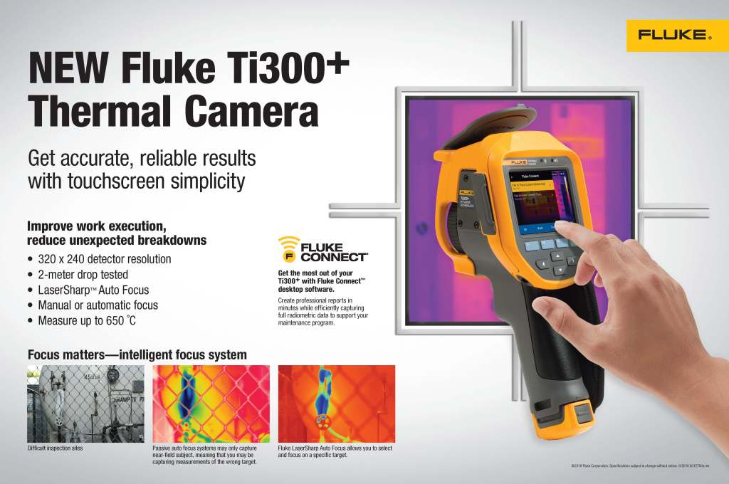 Fluke Ti300+ Poster/Counter Pad