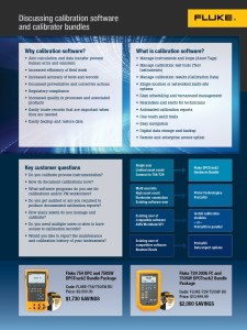 Fluke Process Tools Software Bundle Flyer