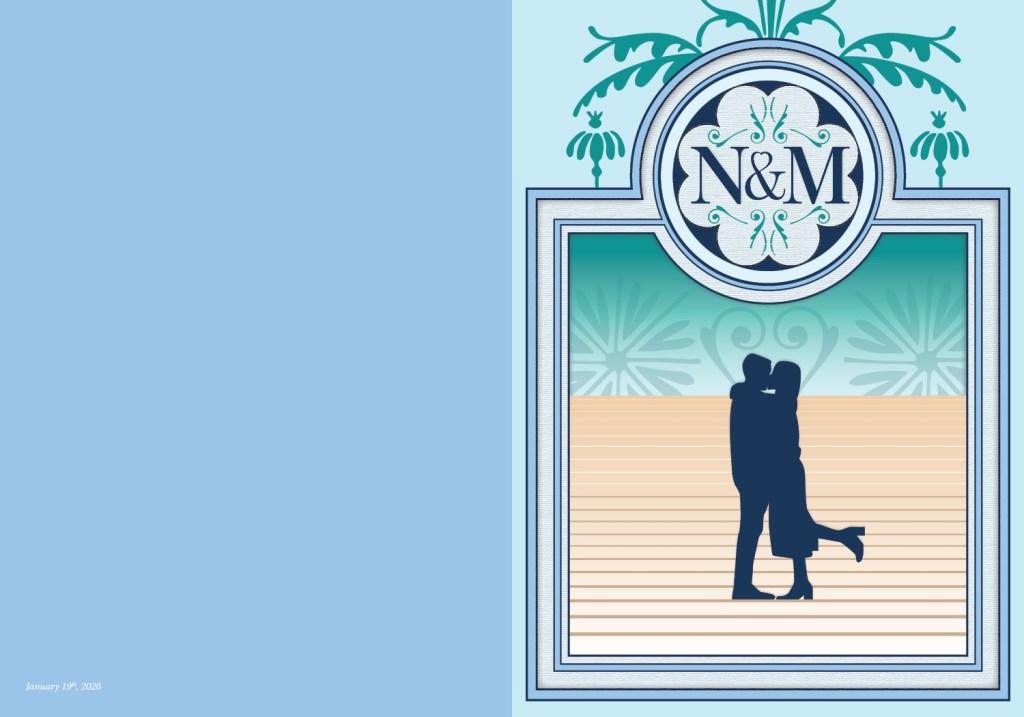 N&M Wedding Card