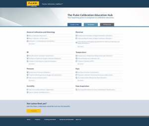 Fluke Calibration Education Hub