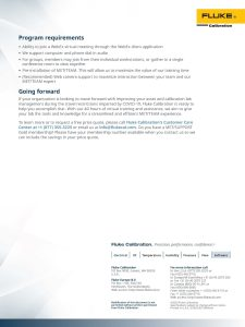 MET/TEAM Remote Training Flyer
