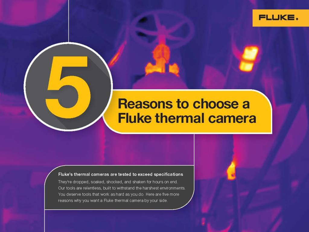 Fluke Thermal Imaging 5 Reasons, Brochure and Interactive Web Experience