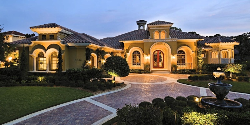 amazing home that comes from working hard on MLM
