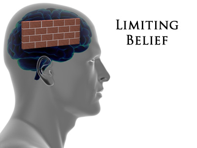 brick wall in mind from limiting beliefs