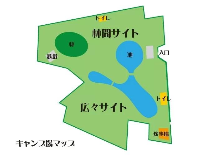 超穴場!埼玉の無料キャンプ場