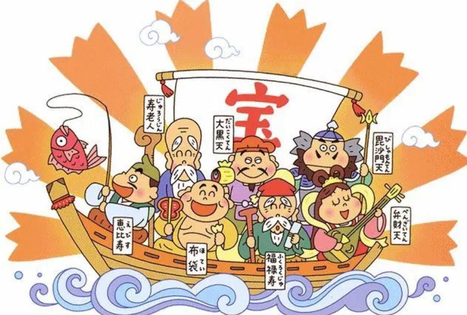 七福神 日本 の 神様