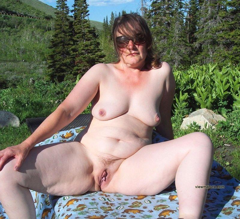 Naked public women old in Woman Filmed