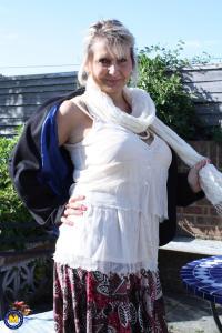 Alexa, een geile Nederlandse oudere vrouw
