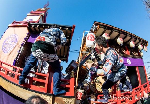 11月3日 湧玉宮本と阿幸地の競り合い