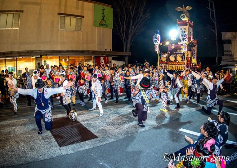 11月3日夜 宮本の踊り披露