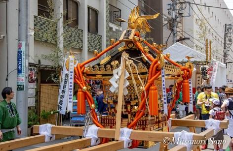 東神田三丁目の神輿