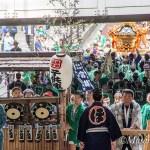 神田祭見学-3 連合渡御出発から宮入まで