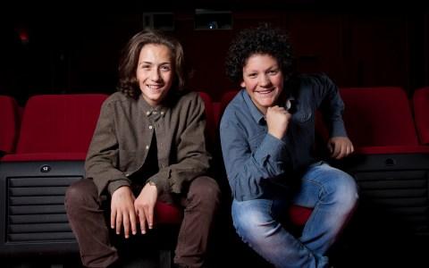 Lum Veseli et Andi Bajgora / Child actor / Crédit: Samuel Fromhold/Matuvu'