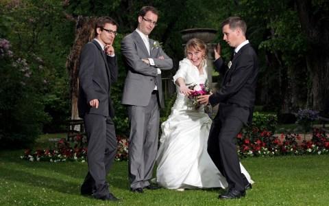 Mariage / photo de groupe / Crédit: Samuel Fromhold/Matuvu'