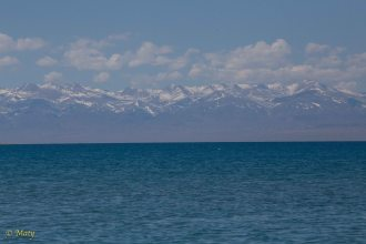 Lake Issyk Kul - that how I imagine perfect venue for my Fourth of July!