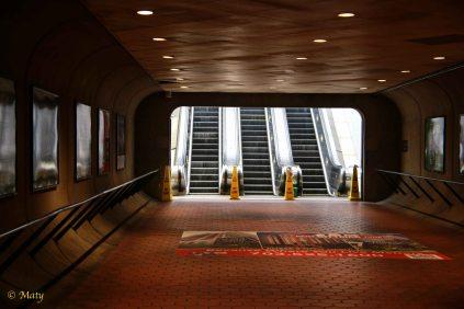 Entrance to Ballston Metro station