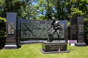 Seabees Memorial just outside of the Arlington Memorial Cementary