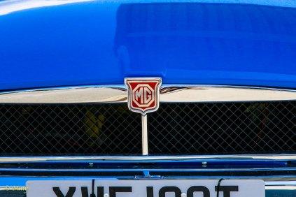 Blue MG MGB GT