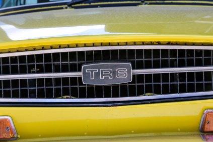 Yellow Triumph TR6