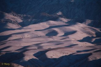 Shadows are adding the dramatic depth to the photos! Check out the next photo - that is how this hills look in the Summer!