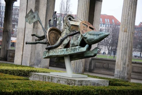 Berlin is full of sculpture and art...