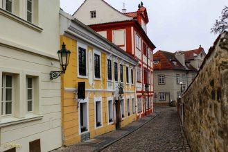 Amazing alleys at Hrad Castle - Prague, Czech Republic