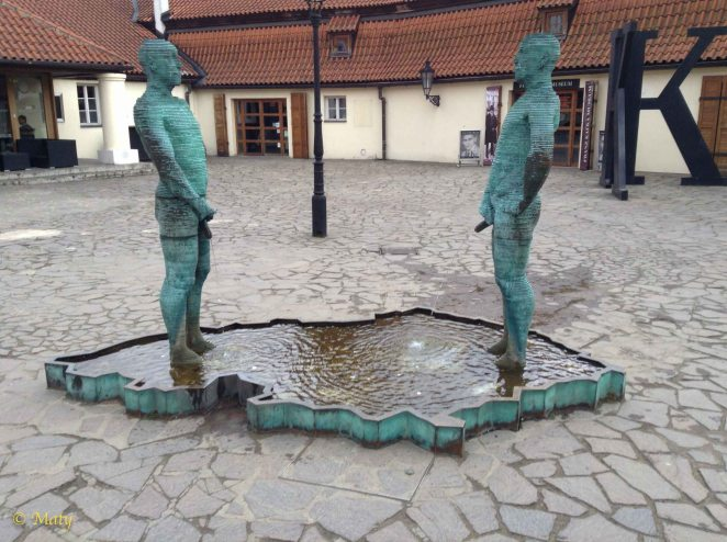 """""""Piss"""" is a very sophisticated sculpture because of nature of its ingenious design and political intricacies why it was created."""