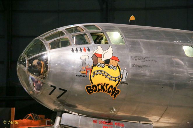 """Boeing B-29 Superfortress """"Bockscar"""" - the bomber which drop the nuclear bomb on Nagasaki"""