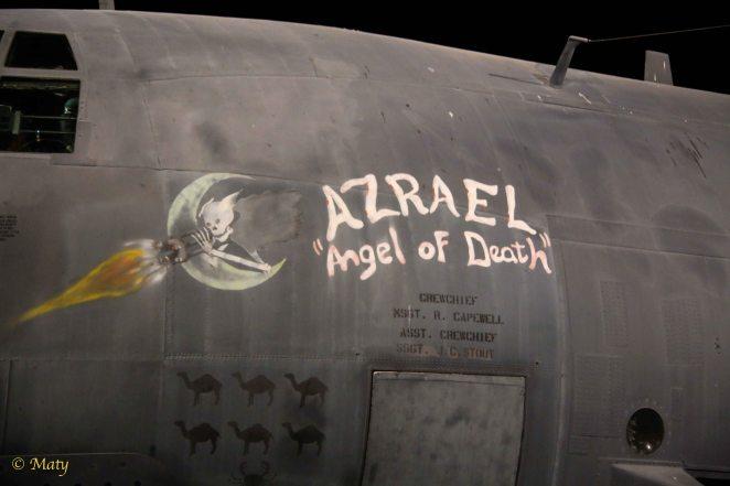"""Lockheed AC-130A """"Azrael"""""""