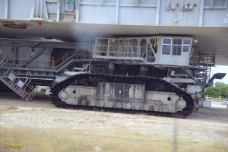 Crawler Transporter - it is enormous! Looks little bit like the droids machines from Star Wars!