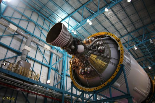 Stage 3 - The Apollo Service module with its engine