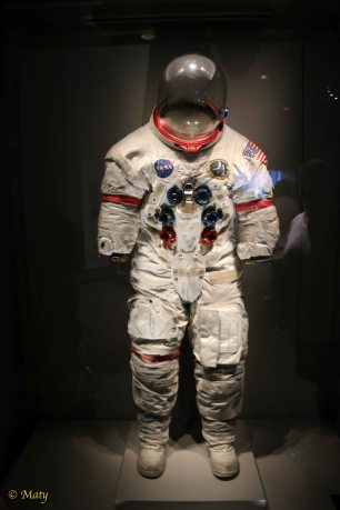 Real astronaut suit