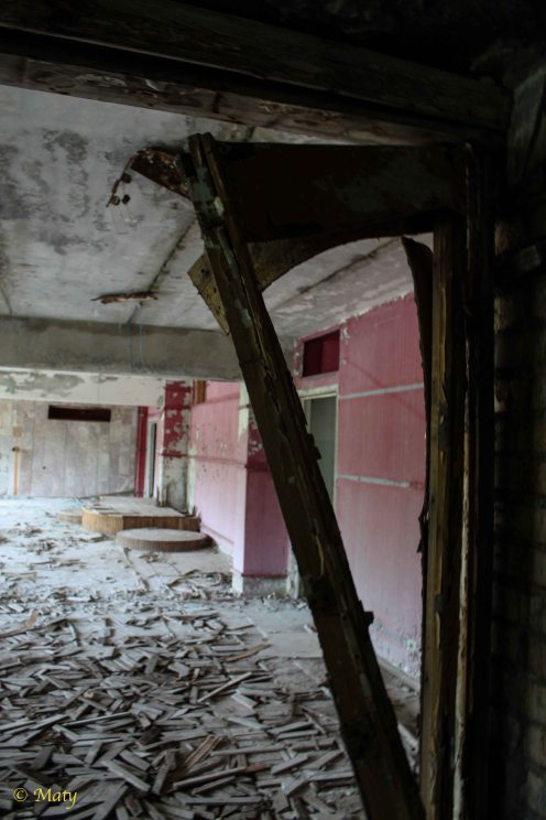 welcome to Pripyat main hotel!