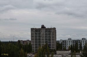 tallest building in the city of Pripyat
