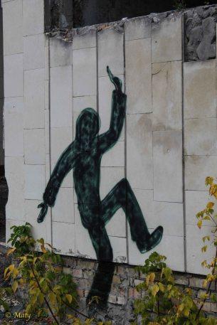 another graffiti - city of Pripyat