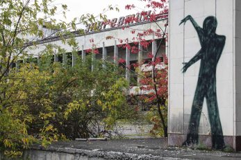 and another scary graffiti - city of Pripyat