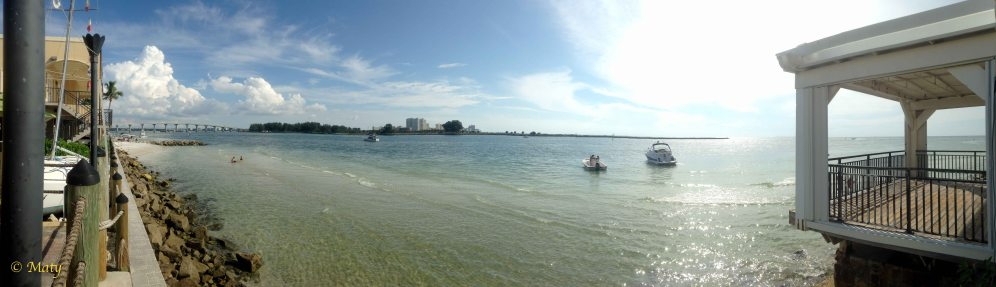 Chillin' at the Clearwater Beach, Florida. Perfect evening!