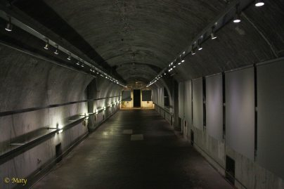 tunnels in the museum