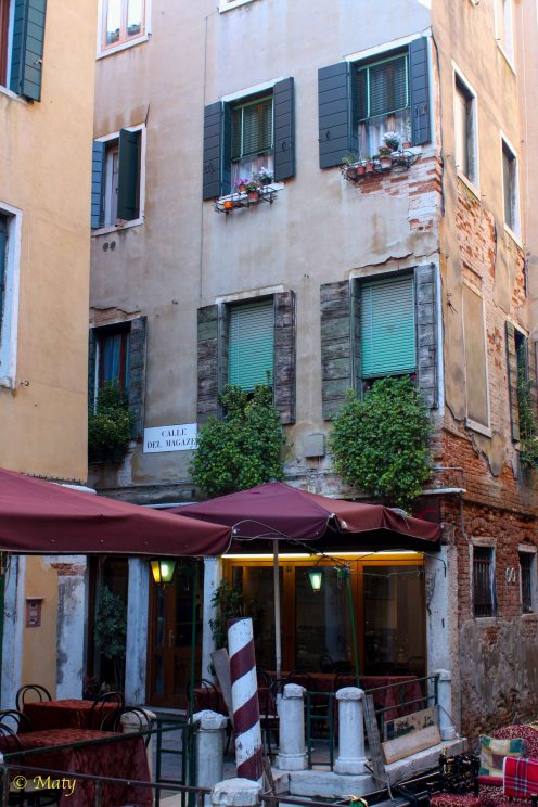 I find plenty of building facades in Venice to be not well maintained