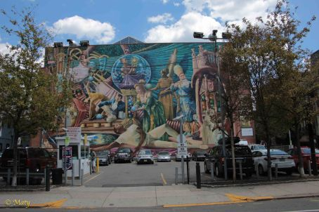 mural in South Philly