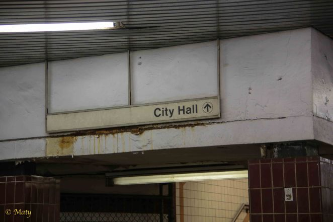 Exit to City Hall!