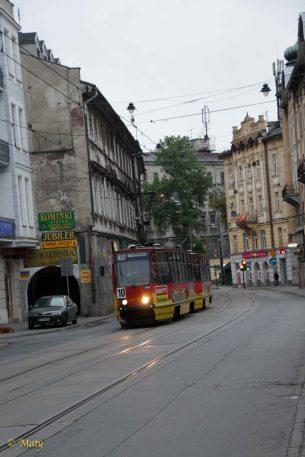 Tram in Jewish Quarters