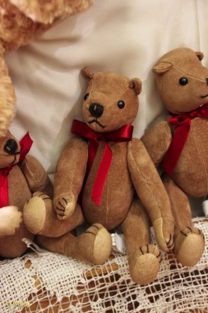 On Sienna Street there is a store where you can buy plenty of them little bears