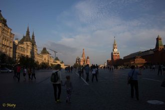 Evening at Red Square!